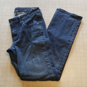 Jag Low Rise Straight Leg Jeans Size 8